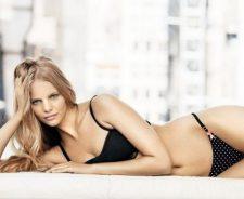 Marloes Horst Girl Blonde Model Sexy Lingerie