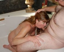 Mature Amateur Sex Bathtub