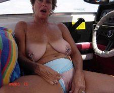 Mature Black Granny Nude Beach