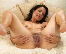 Mature Milf Granny Mom Wife Pussy Spread Wide