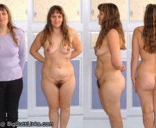 Mature Nude Women Posture