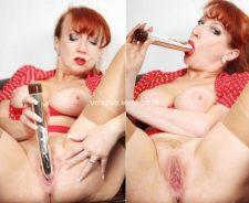 Mature Red British Milf Porn