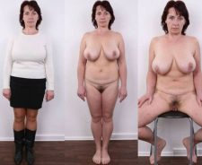 Mature Women Dressed And Undressed