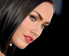 Megan Fox Closeup Face