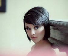 Mellisa Clarke Girl Brunette Short Hair Beautiful