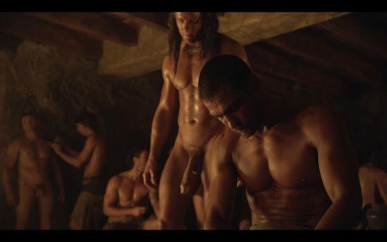 Mike Edwards Spartacus Nude