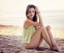 Morgane Beach Color Fashion France Babe Hair Plage Tattoo Yellow