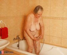 My Grandma Nude In The Shower