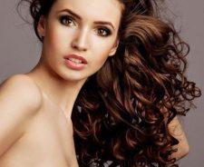 Naked Curly Hair Brown Eyes Girl