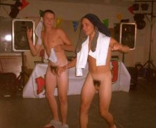 Naked Frat Party