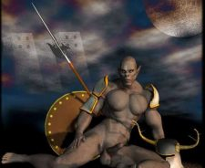 Naked Male Warrior Sex