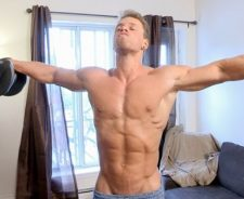 Naked Muscle Men Workout