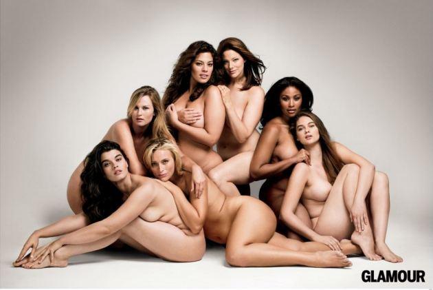 Naked Plus Size Models