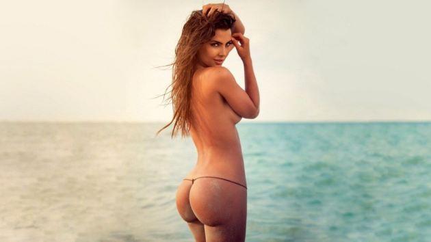 Natalia Velez Beach Ass