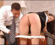 Naughty Schoolgirls Getting Spanked