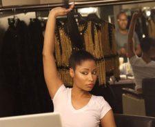 Nicki Minaj Natural Hair