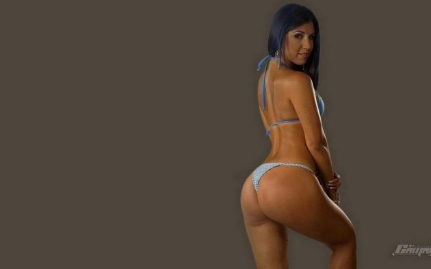 Nicole Aldana Tica Ass Beautiful Lingerie