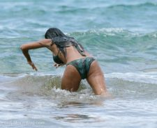 Nicole Scherzinger Bikini Ass