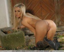 Nude Art In Barn