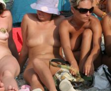 Nude Beach Sex Party