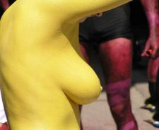 Nude Body Paint Uncensored