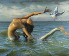 Nude Fantasy Art Mermaid