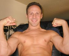 Nude Gay Muscle Men Flexing Biceps
