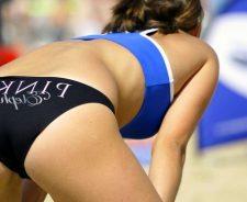 Nude Girl Gymnast Pussy Slip
