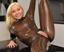 Nude Latex Suit