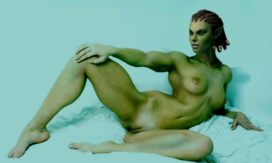 Nude Orc