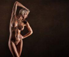 Nude Tattoo Model Sexy Tits