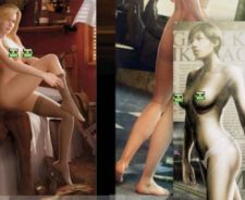 Nude girl from game of war commercial