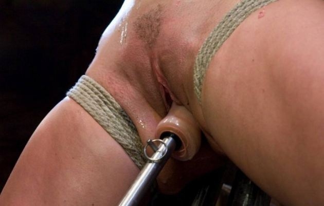 Painful Anal Dildo Insertion