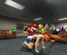 Princess Peach And Mario Having Sex
