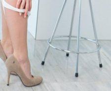 Pulled Down Panties Heels Sexy Girl Legs Floor