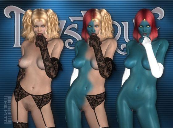 Rebecca Romijn Mystique Porn