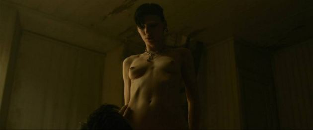 Rooney Mara Girl With The Dragon Tattoo Nude