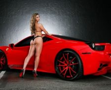 Round Butt And Ferrari