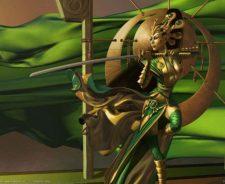 Samurai Female Warrior Fantasy Art