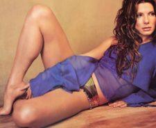 Sandra Bullock Toes