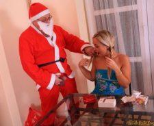 Santa Fucks Girl In Ass