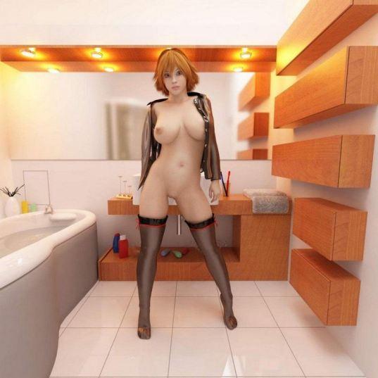 Sexy Anime Girls 3d