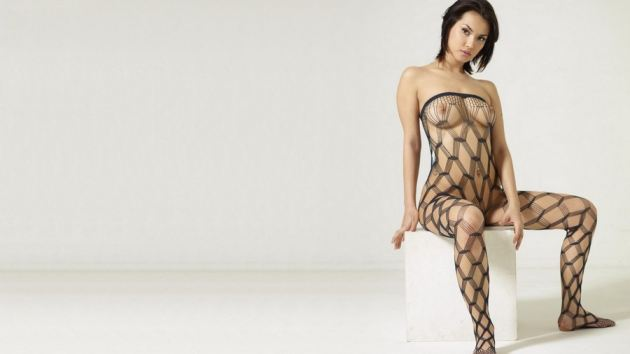 Sexy Babe Nude Dress