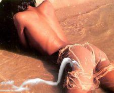 Sexy Girl Getiing Wet In Water Undressed