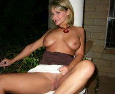 Sexy Mature Woman Smoking