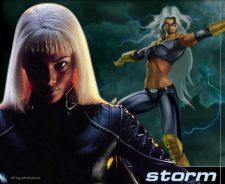 Sexy Storm Marvel Hot