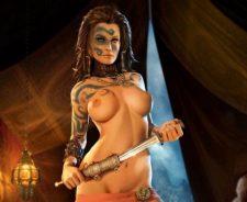 Sexy Warrior Girl