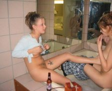 Shaving My Little Sisters Pussy