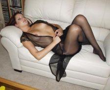 Shiny Nylon Pantyhose Stockings Legs Teens
