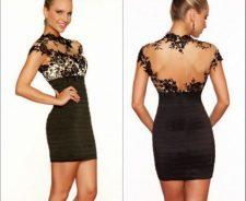 Short Semi Formal Black Dress